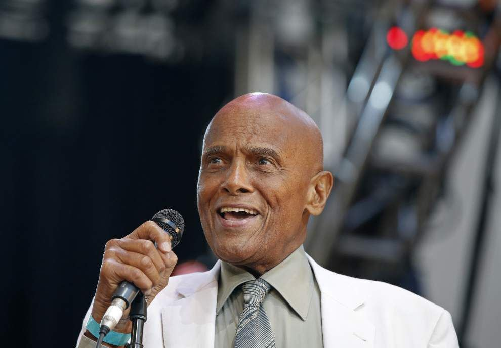 Harry Belafonte says activism inspired his art _lowres