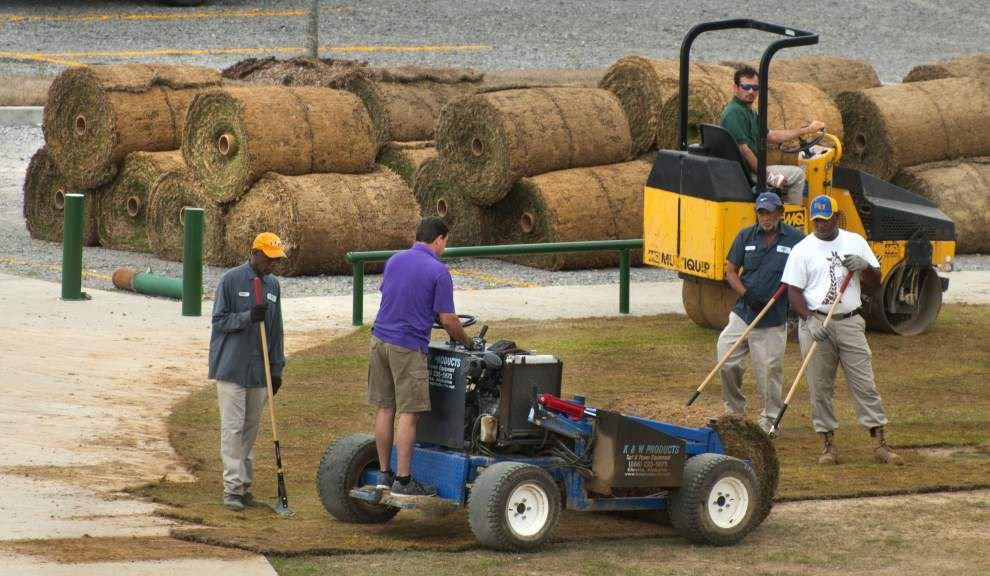 Central Sports Park opens with ball fields, playground, fishing lake _lowres