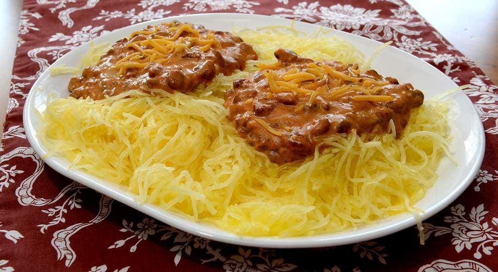Chili Cheese Spaghetti Squash _lowres