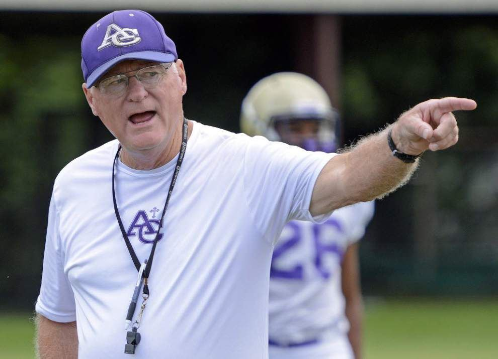 Ascension Catholic athletic director, football coach Doug Moreau retires _lowres