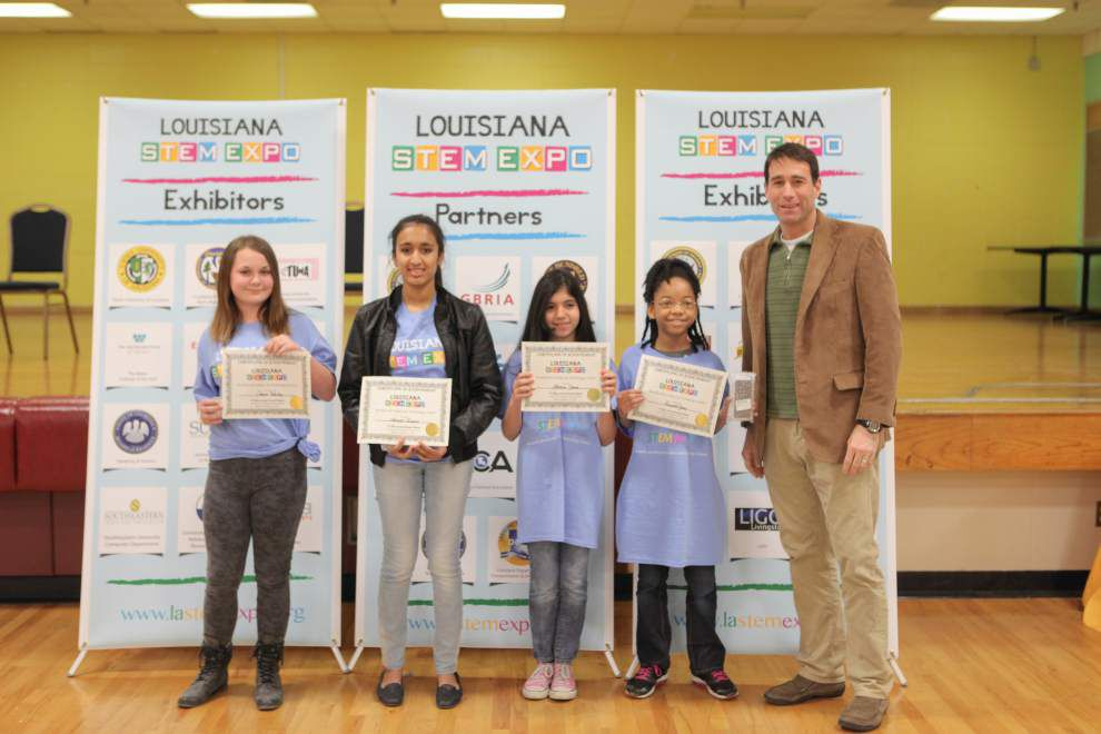 BR girls sweep STEM Expo grand awards _lowres