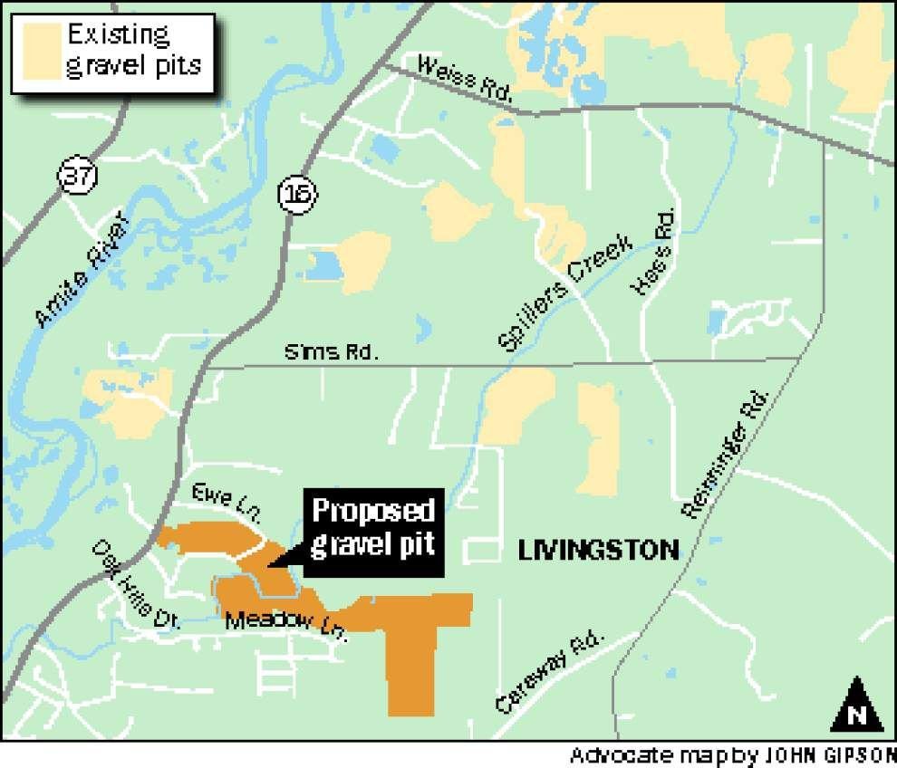Residents in rural Livingston Parish community decry plans for a nearby gravel mining operation: 'Would any of you want to live where I'm living?' _lowres