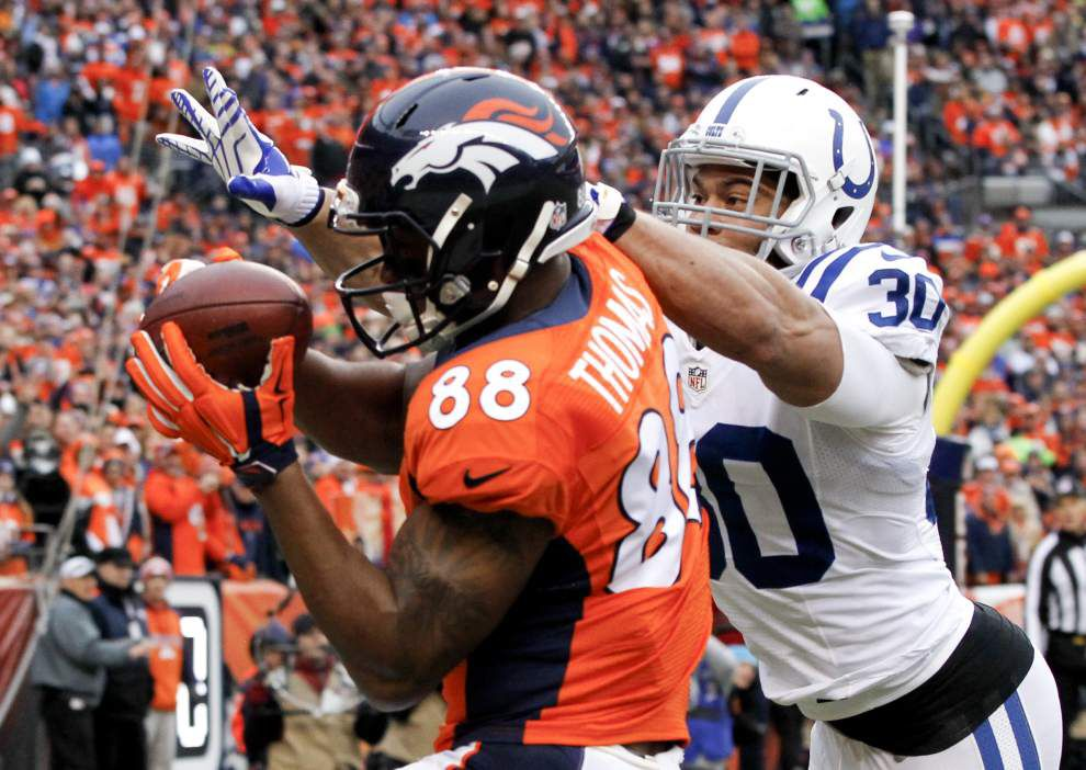 NFL notebook: Broncos place franchise tag on star receiver Demaryius Thomas _lowres
