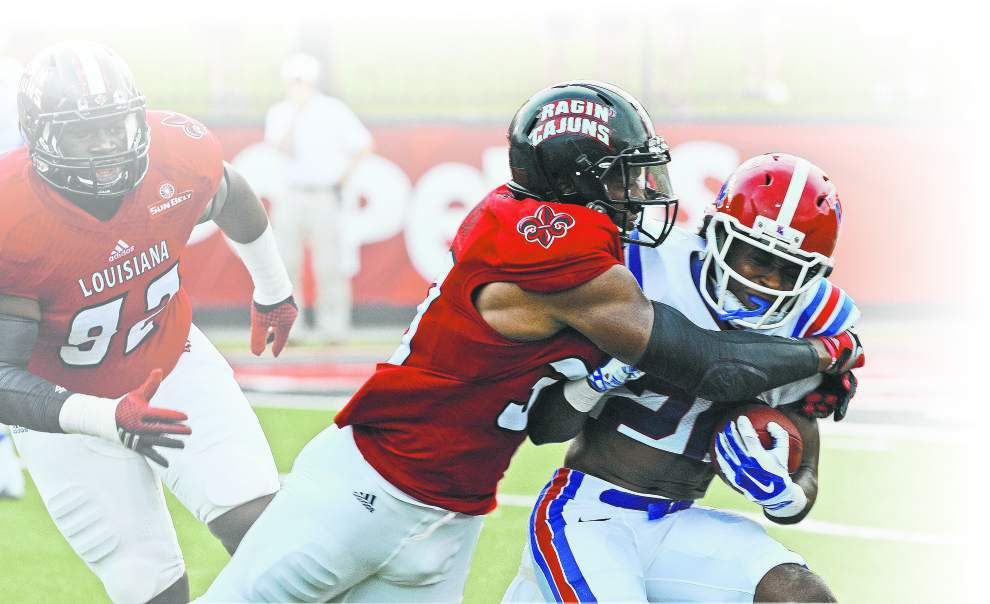 Ragin' Cajuns look to regain stride at Boise State _lowres