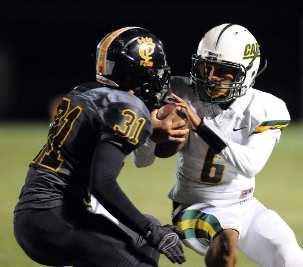 Quarterback Cee Jay Powell makes quick impression on coach Guy Mistretta _lowres