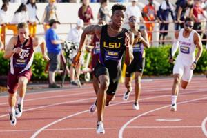 Six current and former LSU track and field athletes advance in early stages of U.S. Olympic Trials