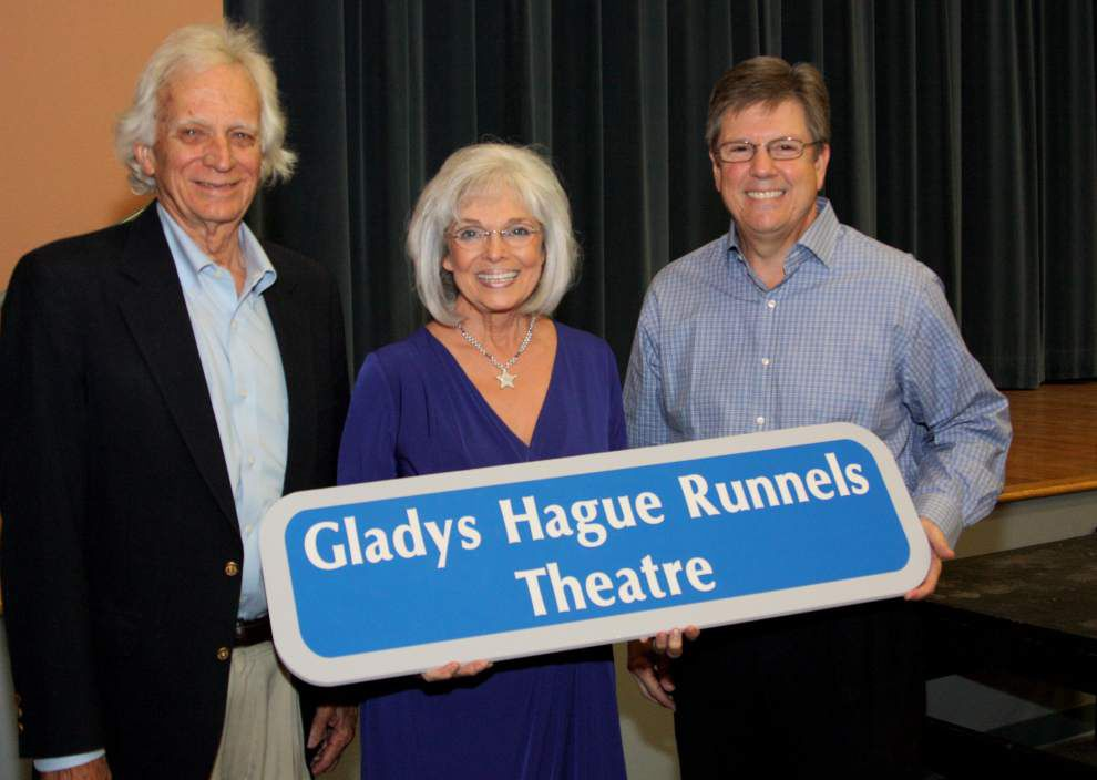 Runnels renames theater to honor school retiree _lowres