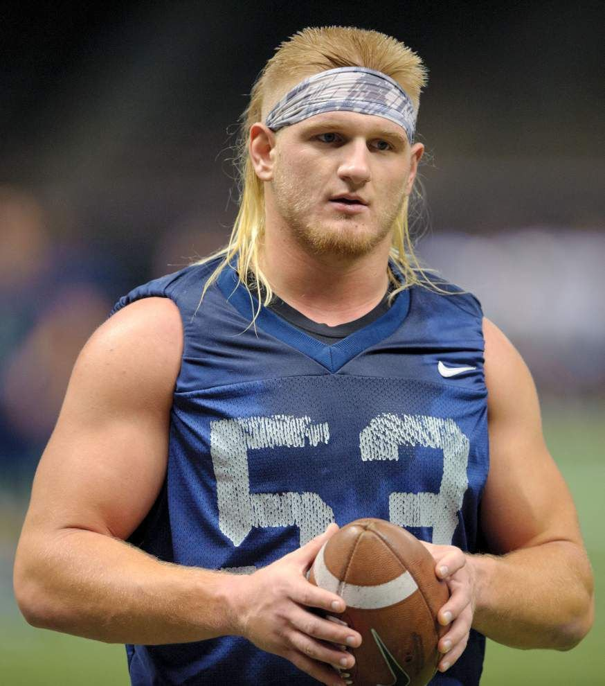 Nevada Defensive End Brock Hekking Loves Brian Bosworth