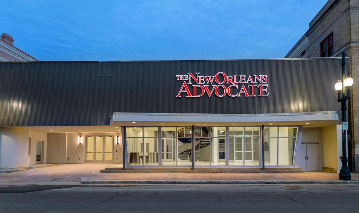 new orleans advocate opens new building on st charles. Black Bedroom Furniture Sets. Home Design Ideas