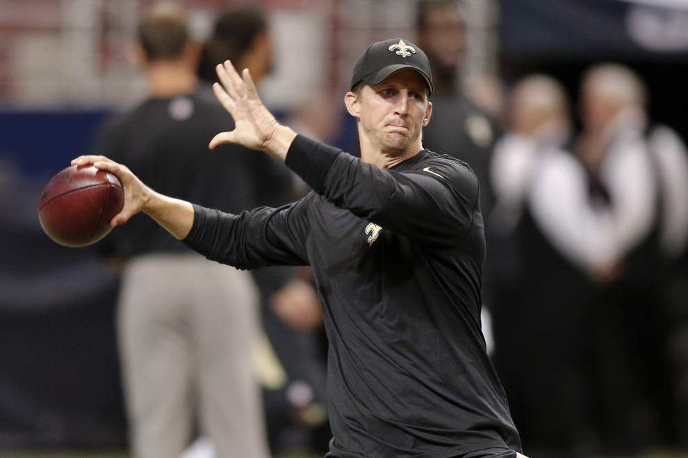 Brees, Byrd, Bailey, Grubbs, Evans head list of 13 inactives for Saints _lowres