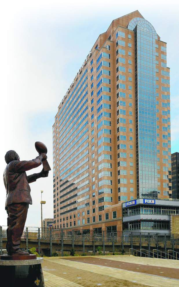 Legislative audit: State overpaying for space in Benson Tower as part of Saints deal _lowres