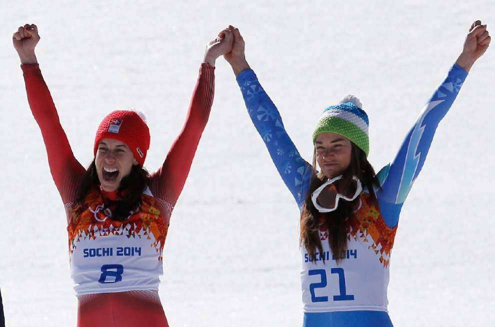 Wednesday's highlights from the Winter Olympics _lowres