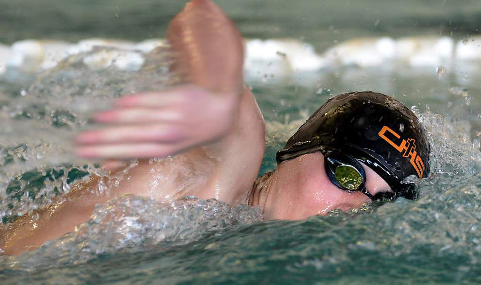Catholic High's Colin Bone breaks two meet records at Capital City Swim League Championships _lowres