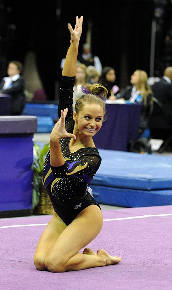LSU senior gymnasts ready for final home meet _lowres