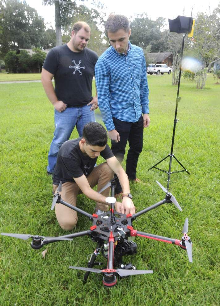 Louisiana's drone industry prepared to take off _lowres