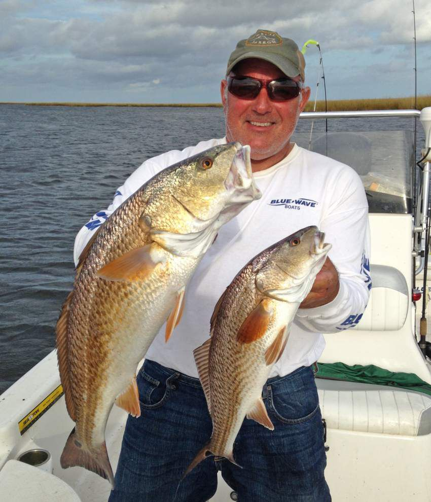 Speckled trout fishing hitting prime time _lowres