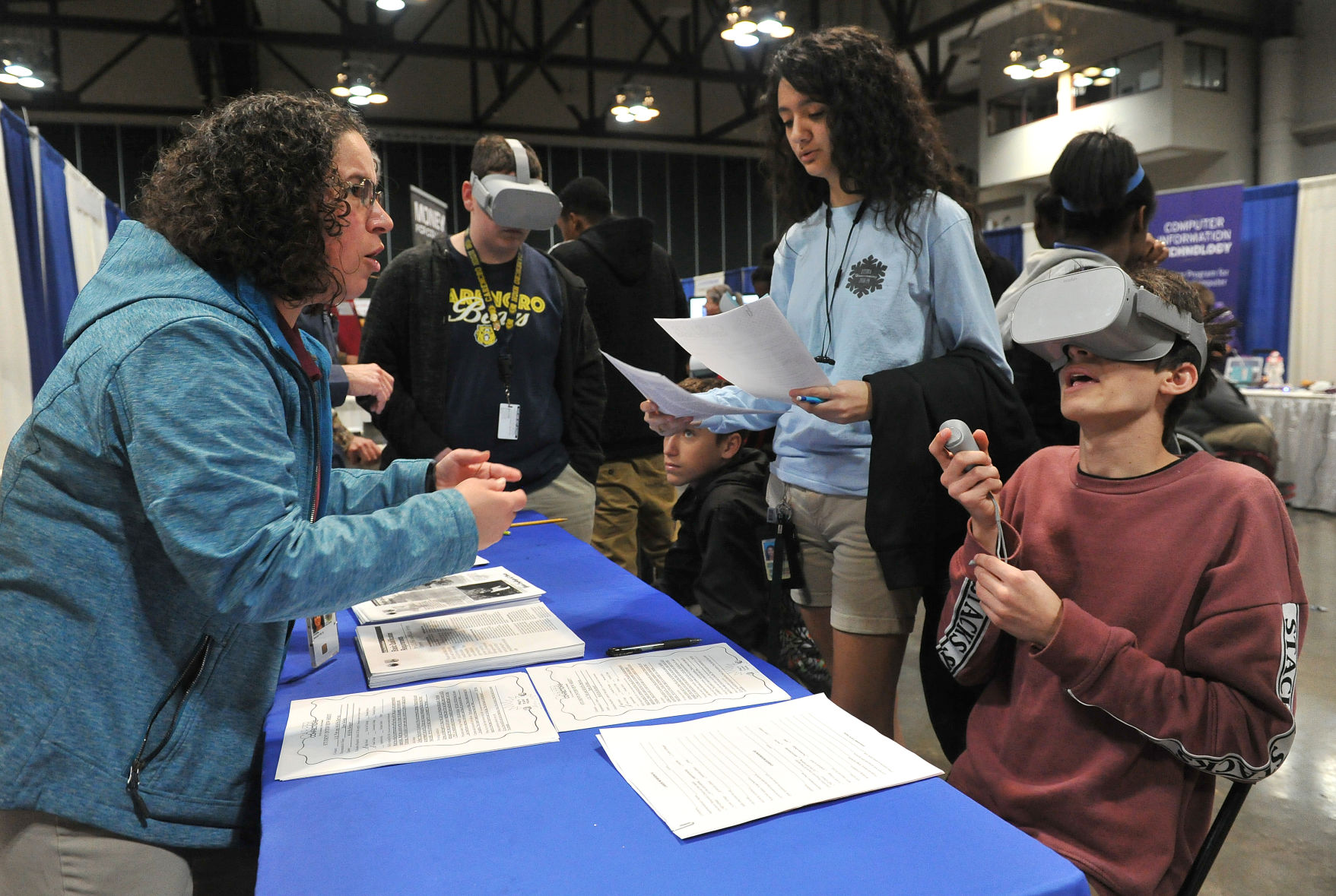 Students get a taste of real life at 20th Career Connections