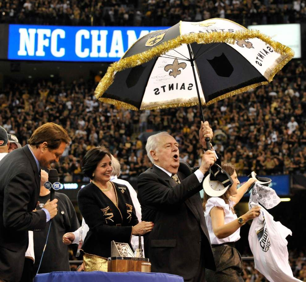 Keeping it short and sweet, Tom Benson enters Louisiana Sports Hall of Fame _lowres