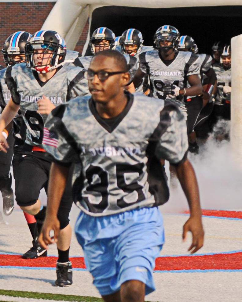 Zachary Sports: Zachary salutes the military _lowres