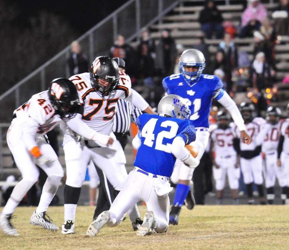 Hunter Smith one of West Feliciana's defensive stalwarts _lowres