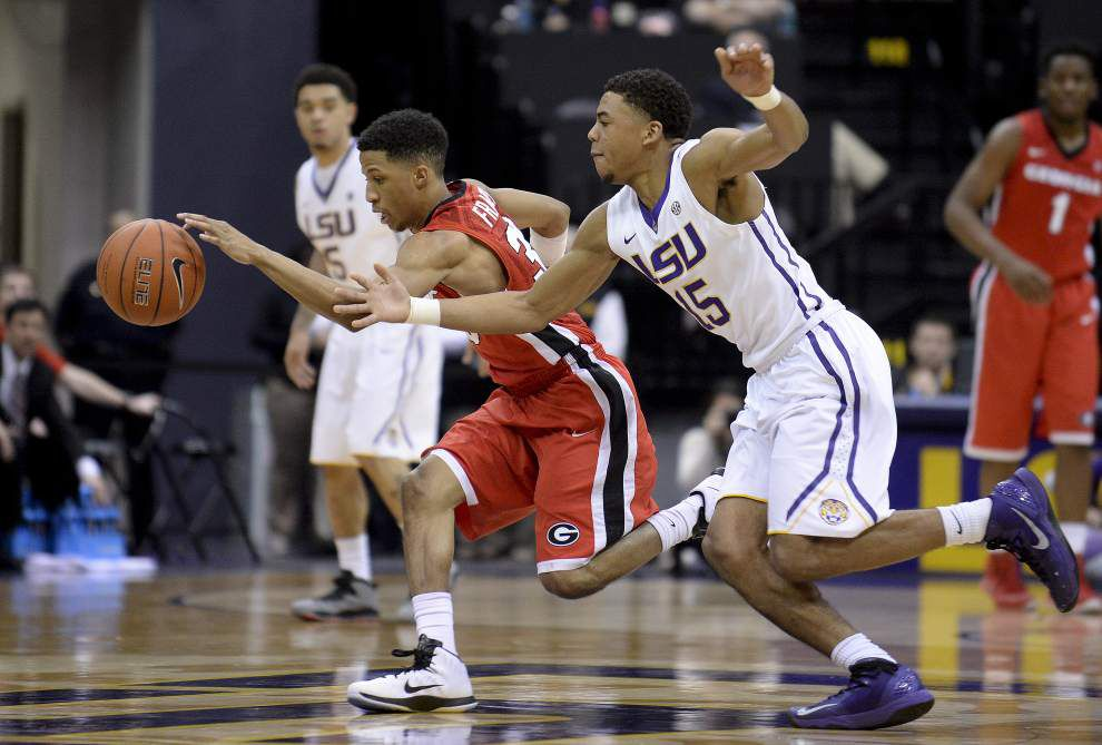 Jalyn Patterson, Tim Quarterman move into LSU's starting lineup against Alabama _lowres