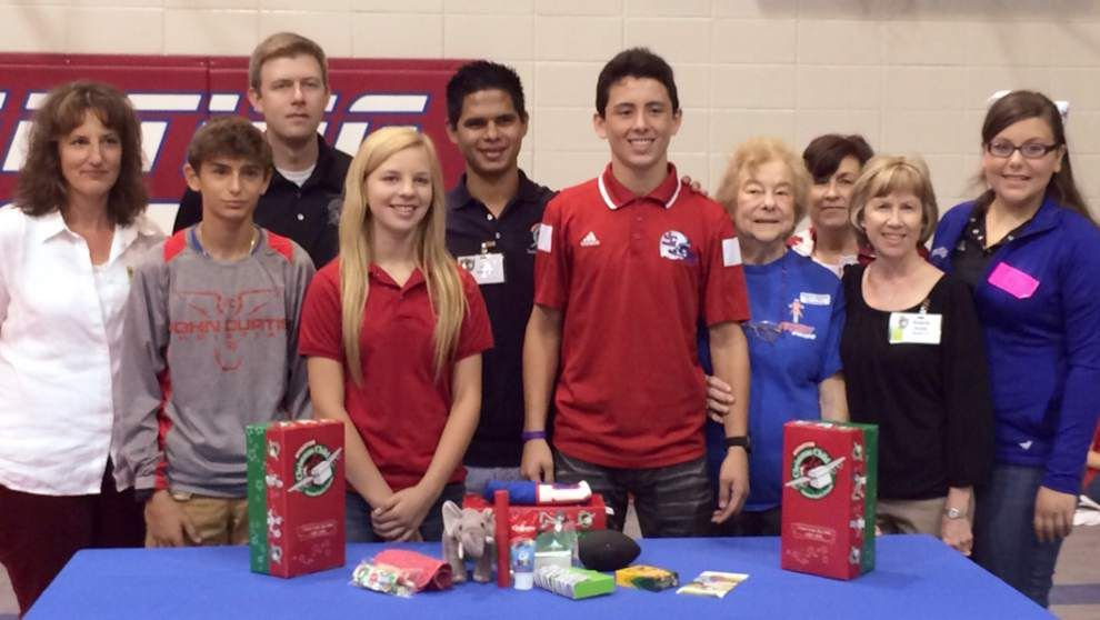 John Curtis Christian School participates in Operation Christmas Child _lowres