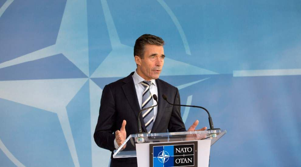NATO says Russian action threatens peace in Europe _lowres
