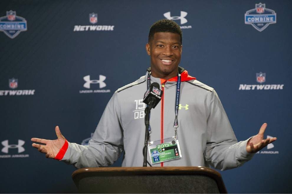 Black and Gold blog: Why did Saints meet with ex-Florida State QB Jameis Winston at NFL Combine? _lowres