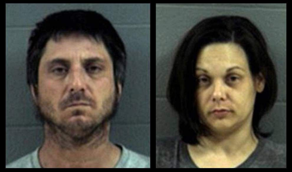 Denham Spring couple accused of operating meth lab _lowres