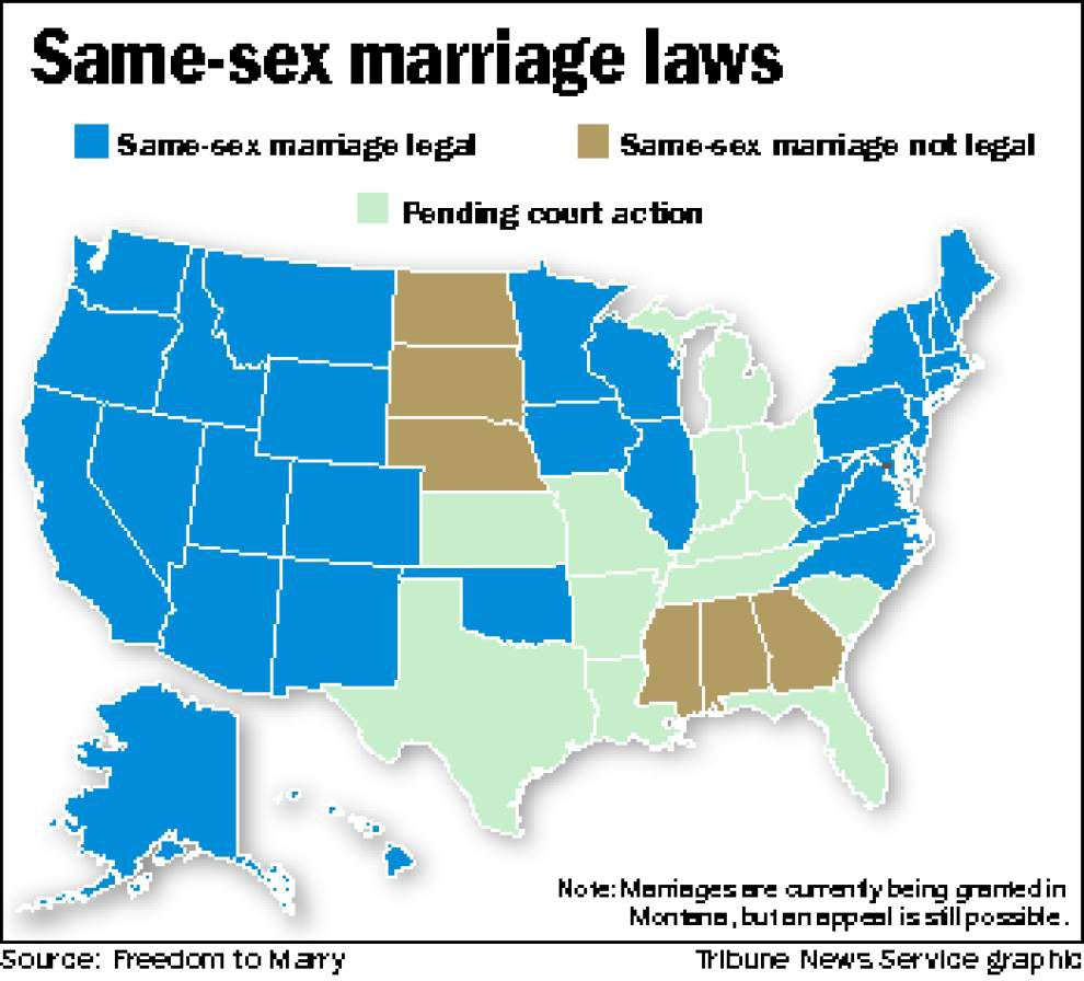 Louisiana same-sex marriage proponents seek shortcut to U.S. Supreme Court _lowres