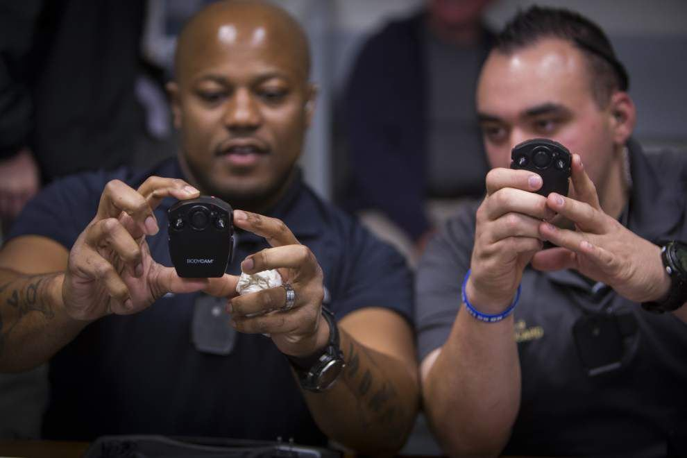 Iberia sheriff's office deputies begin using body cameras _lowres