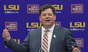 LSU AD Scott Woodward talks fundraising, Will Wade and other key issues at introduction