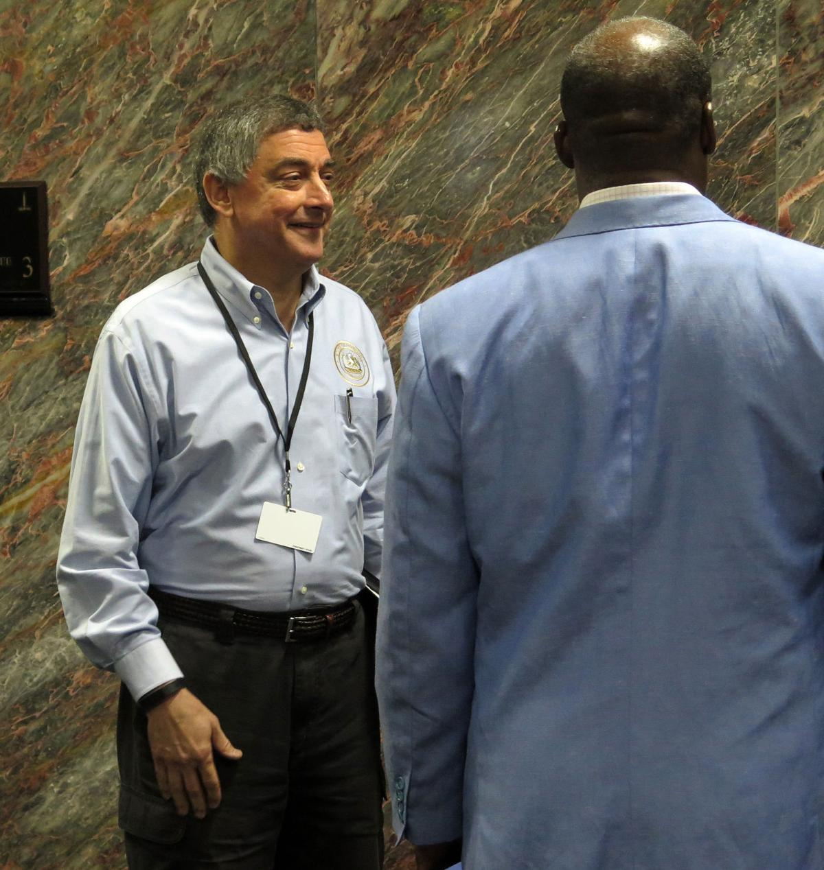 Commissioner Jay Dardenne on cost of disaster