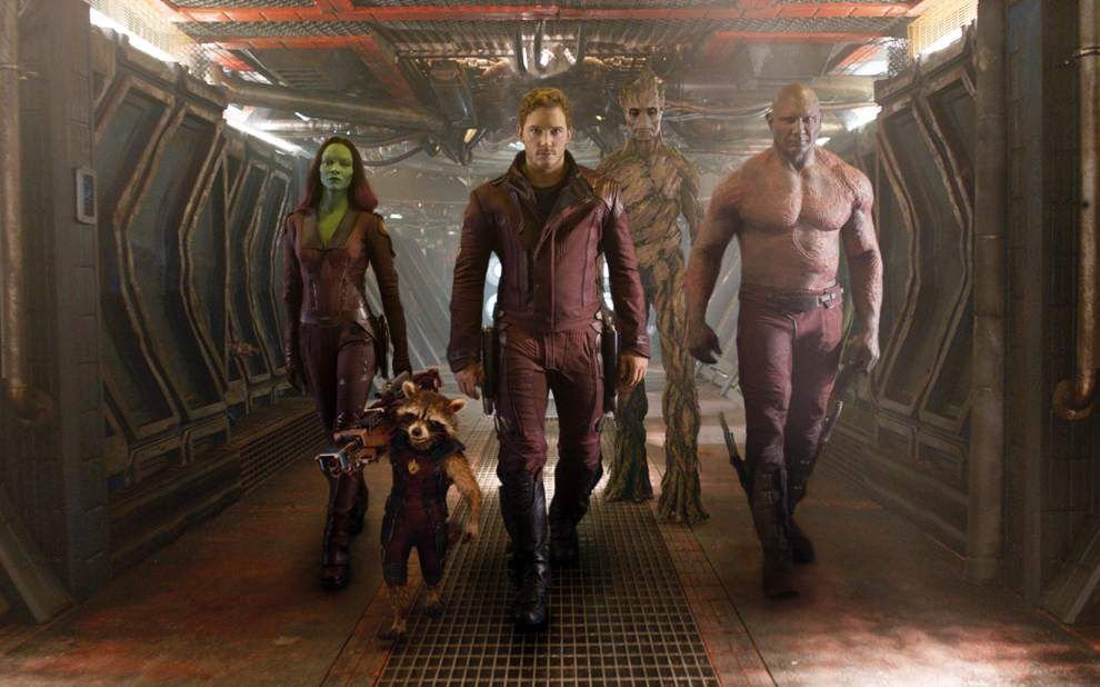 Marvel's 'Guardians' rockets to top of box office _lowres