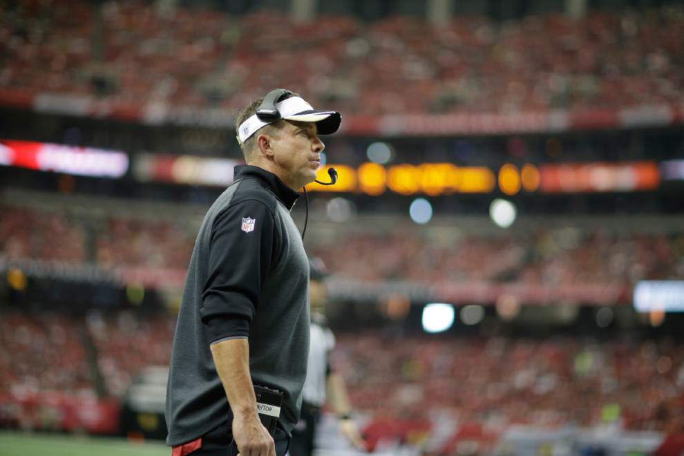 Atlanta Falcons at New Orleans Saints pregame chat with Advocate sportswriter Nick Underhill, Sunday at 11 a.m. _lowres