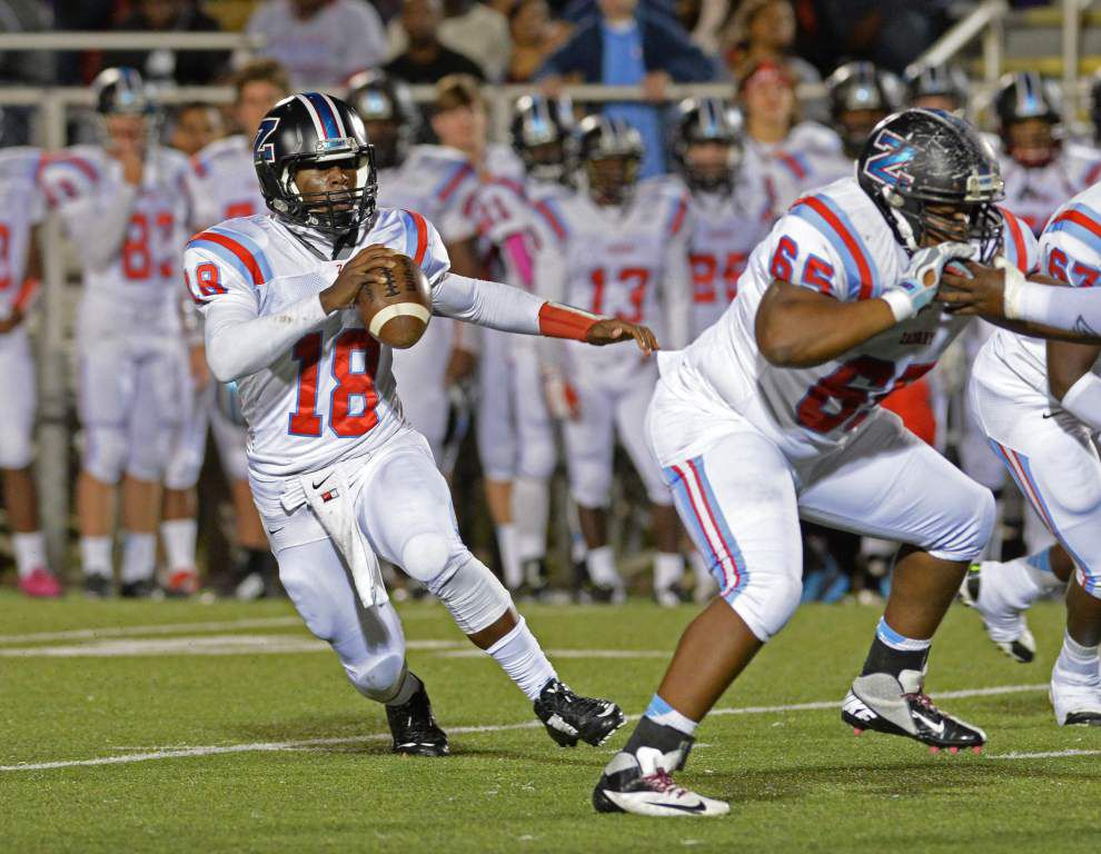 Zachary quarterback Lindsey Scott named Class 5A MVP _lowres