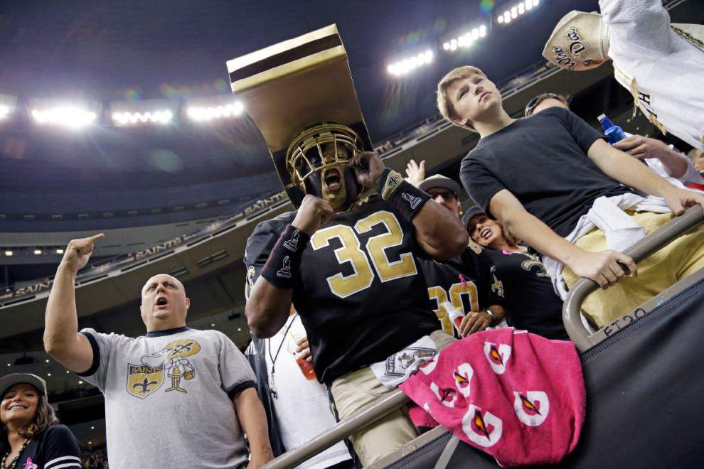 Saints want the Superdome crowd loud and proud for Sunday's showdown with the Falcons _lowres
