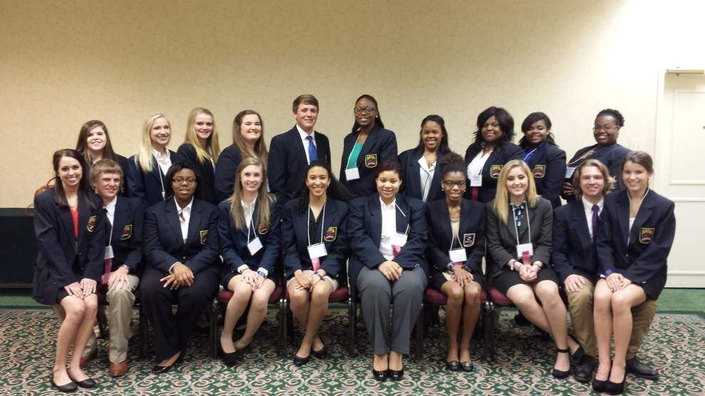 East Ascension DECA takes home top awards _lowres
