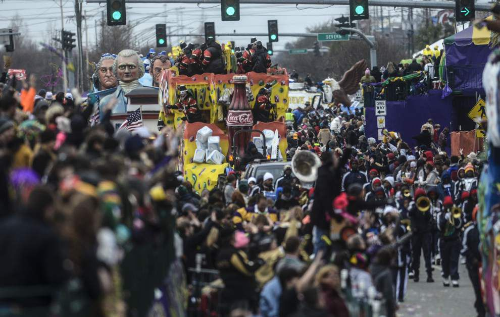Photos: Krewe of Argus parades through Metairie _lowres