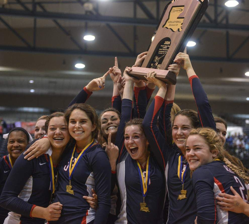 Teurlings Catholic repeats as Division III state volleyball champion, topping Ursuline _lowres