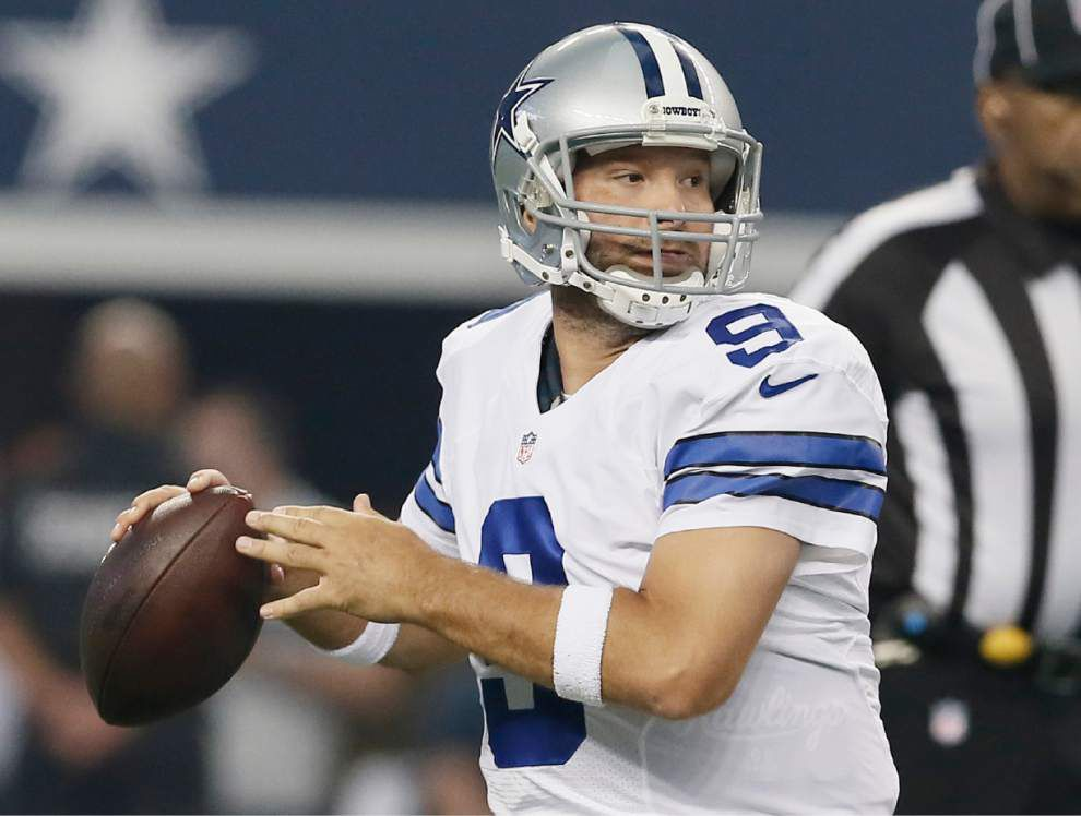 Cowboys quarterback Tony Romo seeks more playoff wins, fewer injuries _lowres