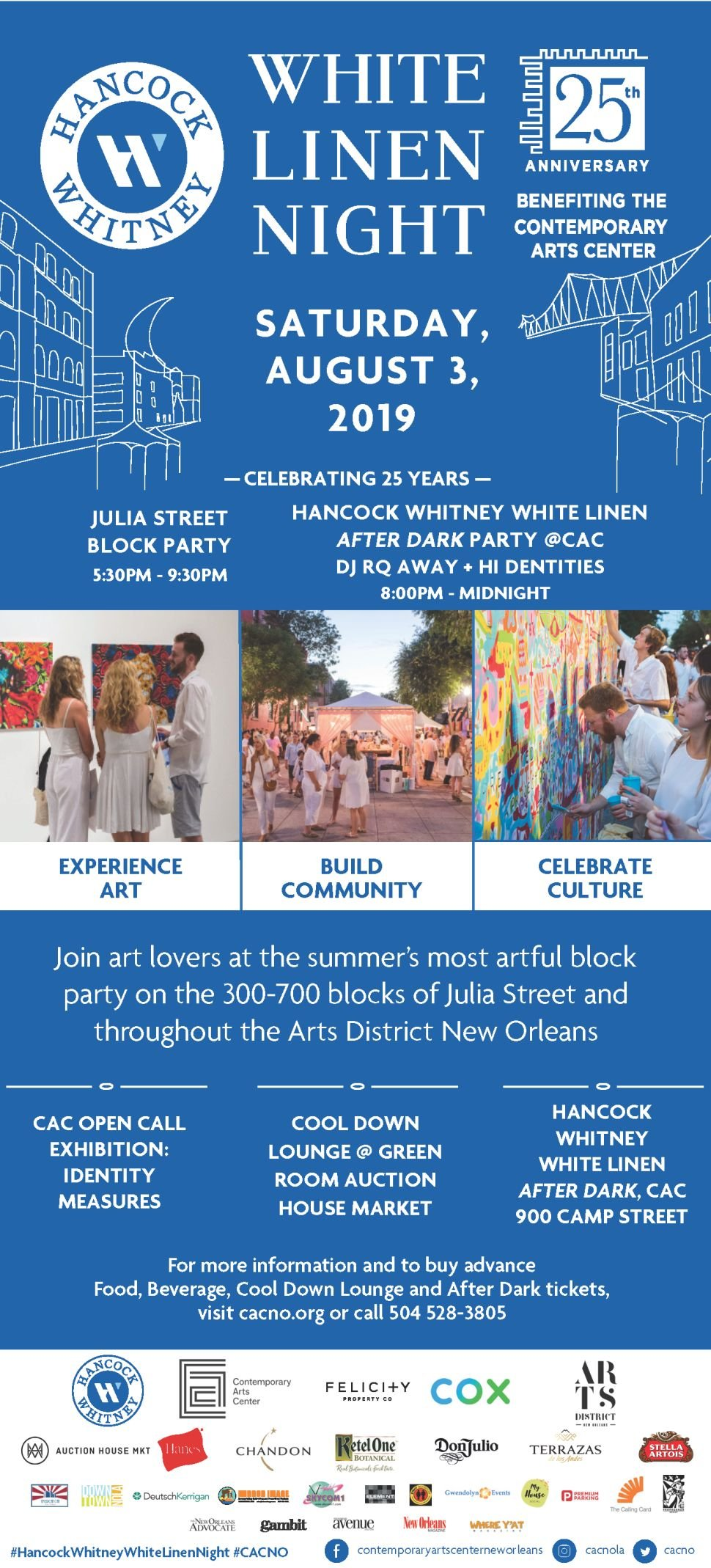 Promo: Win a pair of tickets to White Linen Night's Cool Down Lounge & After Dark Party