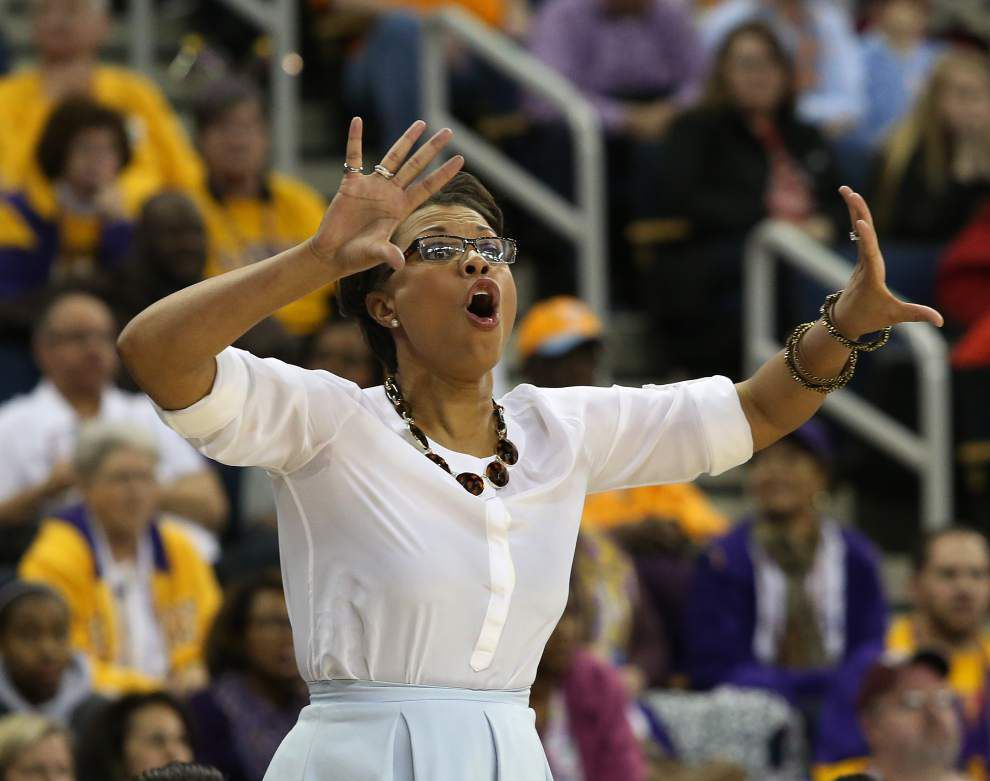 LSU will play Georgia Tech in the first round of the NCAA women's basketball tournament _lowres