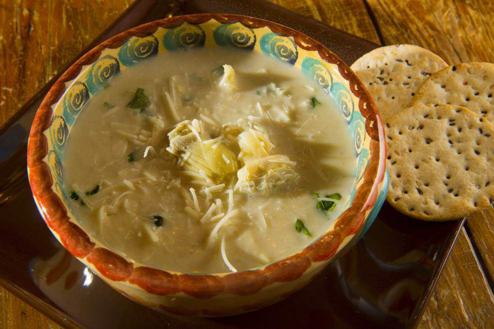 Eat Your Vegetables: Artichoke soup is a light treat _lowres