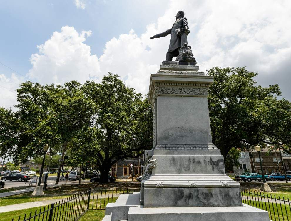 aponline confederate statues orleans