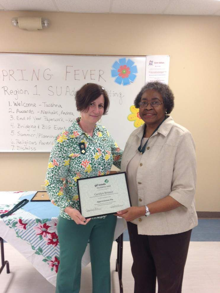 Girl Scouts Louisiana East honor svolunteers for outstanding service _lowres