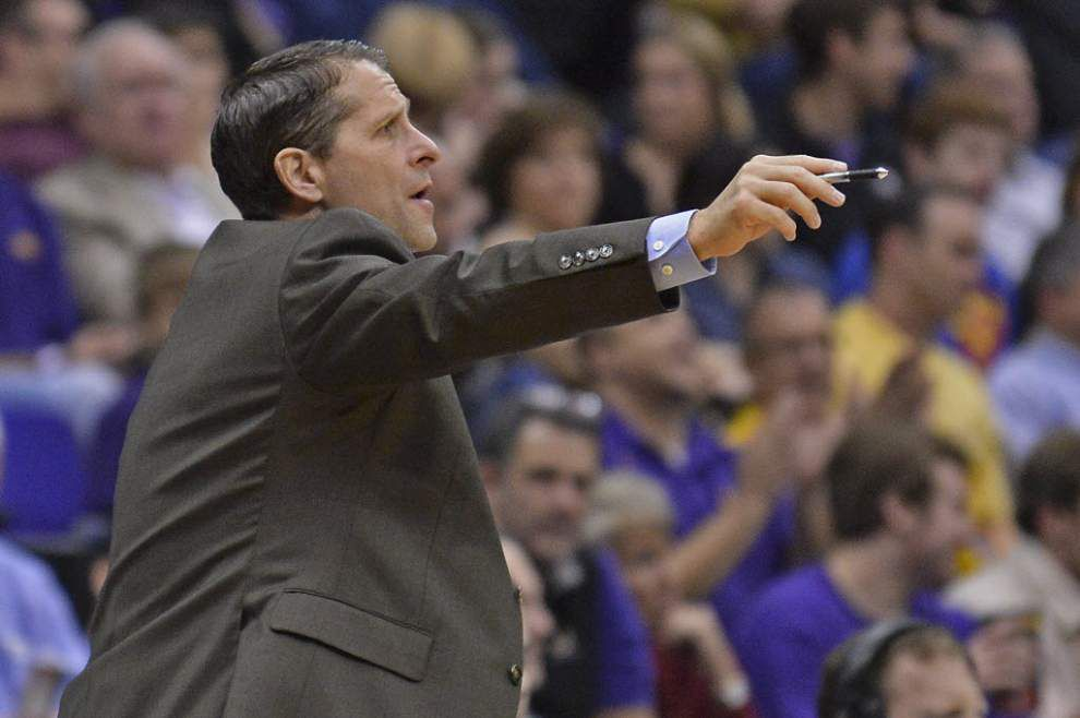 LSU men's basketball associate coach Eric Musselman takes job at Nevada _lowres