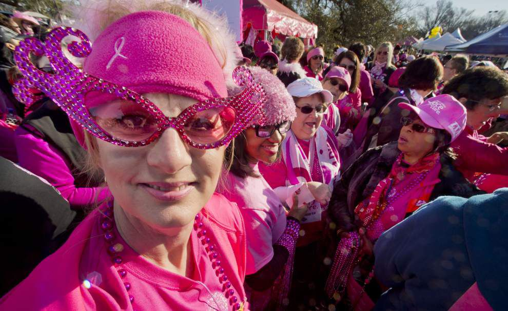 Baton Rouge's 'Race for the Cure' an emotional reunion for thousands of breast cancer survivors _lowres