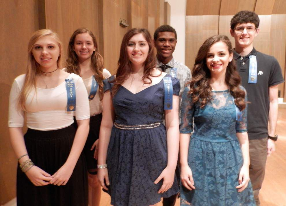 Metairie Music Club holds honors recital _lowres