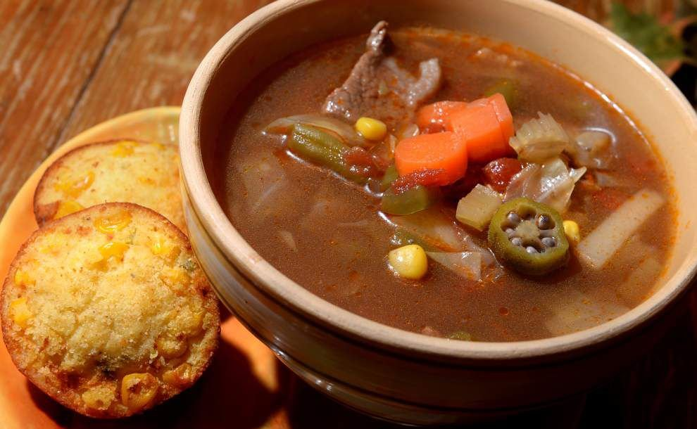 Gourmet Galley: Healthy, hearty soups a good start for a family Halloween _lowres